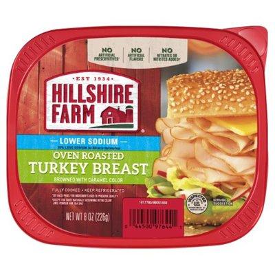 Hillshire Farm Ultra Thin Sliced Lunchmeat, Lower Sodium Turkey