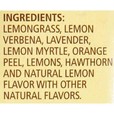 Celestial Seasonings Lemon Lavender Lane Caffeine Free Herbal Tea Bags