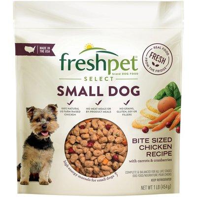 Freshpet Dog Food, Chicken Recipe, Bite-Size, Small Dog