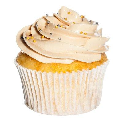 Vegan Double Vanilla Cupcake