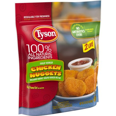 Tyson Fully Cooked Chicken Nuggets, (Frozen)