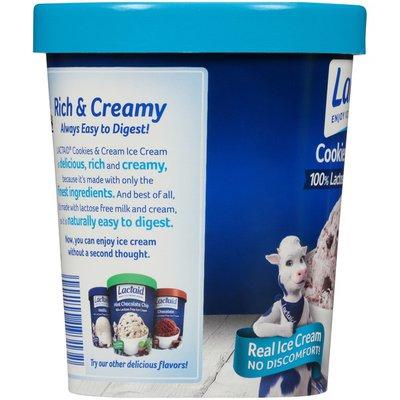 LACTAID Cookies & Cream Ice Cream