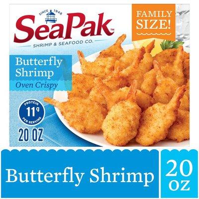 SeaPak Butterfly Shrimp with Crispy Breading