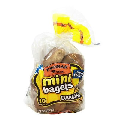 Thomas' Bagels, Mini, Pre-Sliced, Maple French Toast