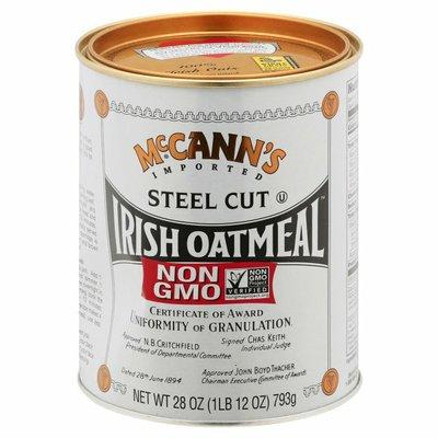McCann's Imported Steel Cut Irish Oatmeal
