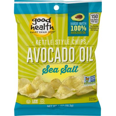 Good Health Avocado Oil Kettle Style Chips Sea Salt