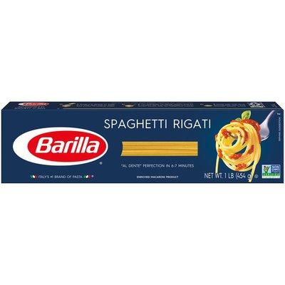 Barilla® Classic Blue Box Pasta Spaghetti Rigati