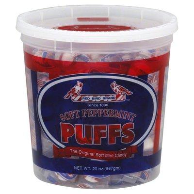 Red Bird Puffs, Soft Peppermint