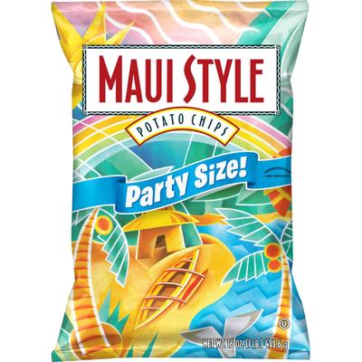 MAUI STYLE Potato Chips, Party Size