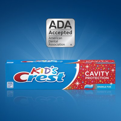 Crest Kid's Cavity Protection Toothpaste, children and toddlers 2 plus, Sparkle