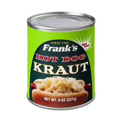 Frank's Hot Dog Kraut