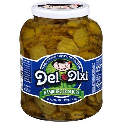 Del Dixi Hamburger Slices Pickles