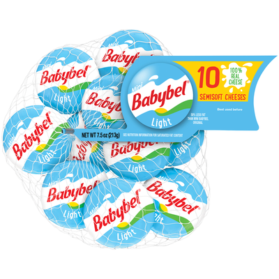Babybel Light Semisoft Cheeses