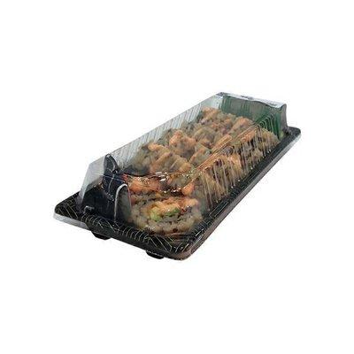 Quinoa Brown Spicy Salmon Roll