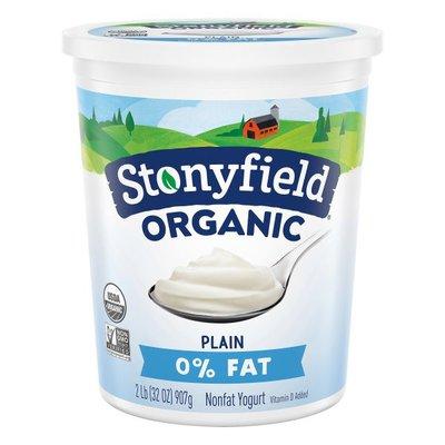 Stonyfield® Organic Plain Nonfat Yogurt