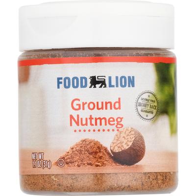 Food Lion Nutmeg, Ground