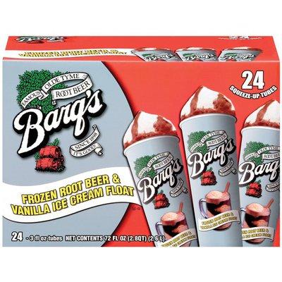 Barq's Frozen Root Beer & Vanilla Ice Cream Float Barq's Frozen Root Beer & Vanilla Ice Cream Float