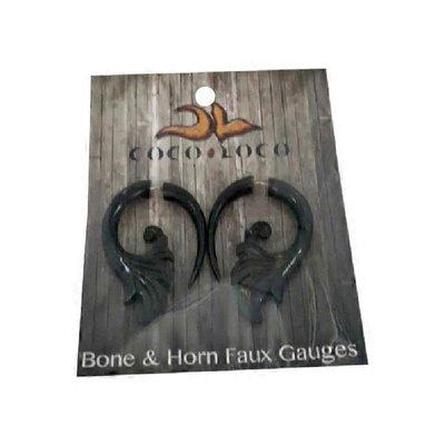 Coco Loco Jewelry Earring Split Expan Bn/ Hn