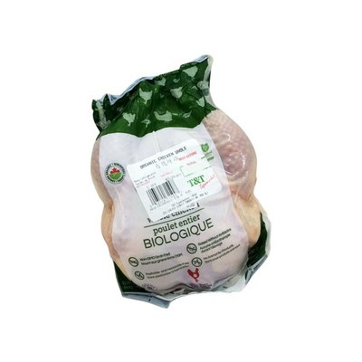 * Organic Whole Chicken