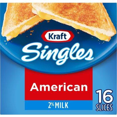 Kraft Singles 2% Milk American Cheese Slices