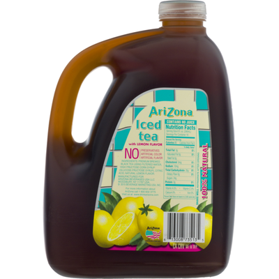 Arizona Sun Brewed Style Iced Tea with Lemon Flavor