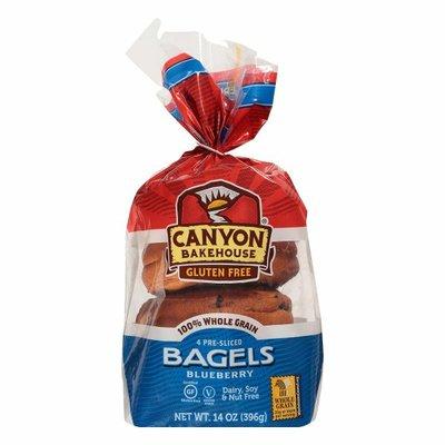 Canyon Bakehouse Gluten Free Blueberry 100% Whole Grain Bagels