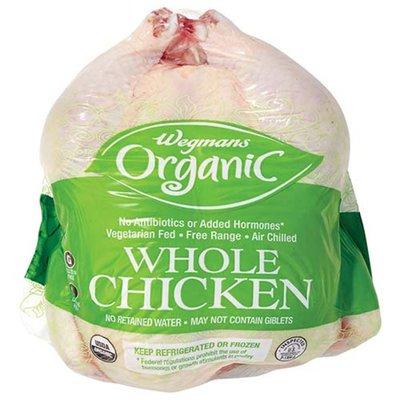 Wegmans Organic Fresh Whole Chicken, Free Range
