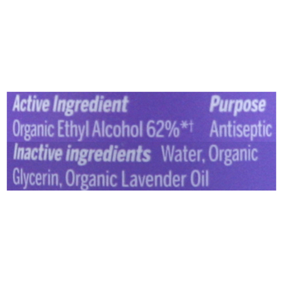 Dr. Bronner's Hand Sanitizer, Organic, Lavender