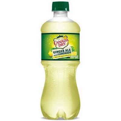 Canada Dry Ginger Ale and Lemonade Soda