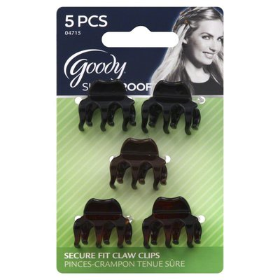 Goody Claw Clips, Secure Fit