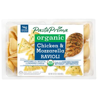 Pasta Prima Organic Chicken & Mozzarella Ravioli