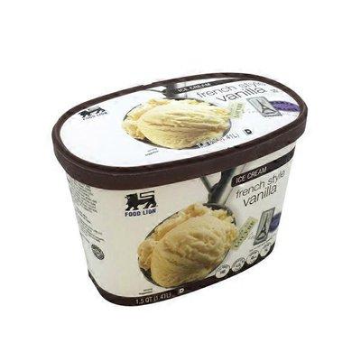 Food Lion French Salted Vanilla Ice Cream