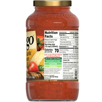 Prego® Roasted Garlic Parmesan Italian Sauce