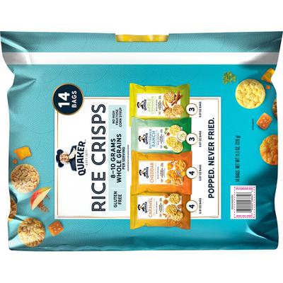 Quaker Variety Rice Chips