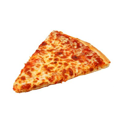 Hot Cheese Pizza Slice