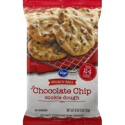 Kroger Cookie Dough, Chocolate Chip