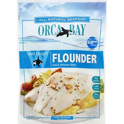 Orca Bay Seafoods Flounder, Wild Caught