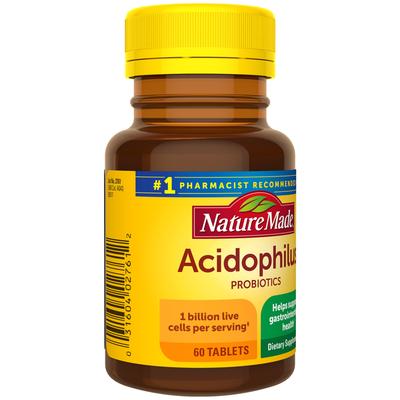 Nature Made Acidophilus Probiotics Tablets
