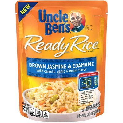 Uncle Ben's Ready Rice Brown Jasmine & Edamame