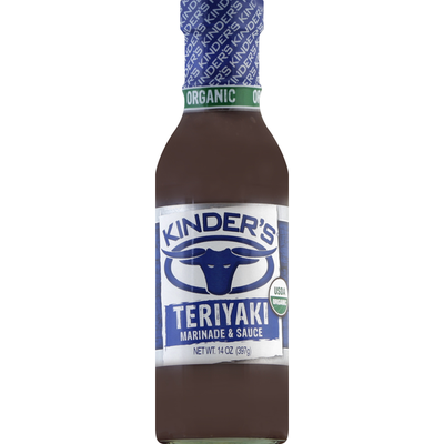 Kinder's Marinade & Sauce, Organic, Teriyaki