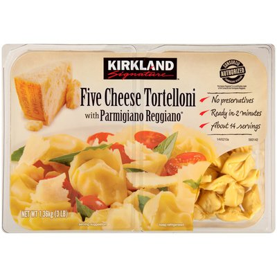 Kirkland Signature   Canada Five Cheese with Parmigiano Reggiano Tortelloni