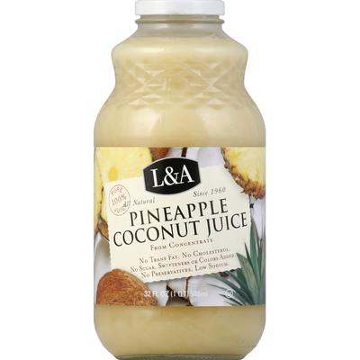 L&a Juice, Pineapple Coconut