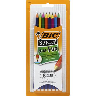 BiC Pencil, No. 2 HB, Break-Resistant Lead