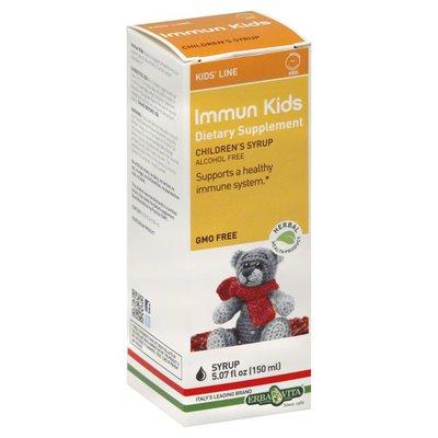 Erba Vita Immun Kids, Children's Syrup