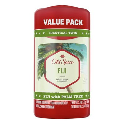 Old Spice Invisible Solid Antiperspirant Deodorant, Fiji With Palm Tree Scent