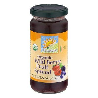 Bionature Organic Wild Berry Fruit Spread