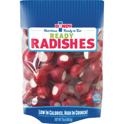 Dandy Ready to Eat Whole Radish Bag