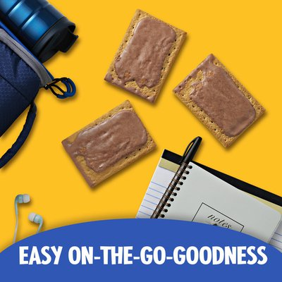 Kellogg's Pop-Tarts Toaster Pastries, Breakfast Foods, Baked in the USA, Frosted S'mores