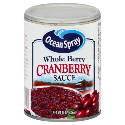 Ocean Spray Whole Berry Cranberry Sauce