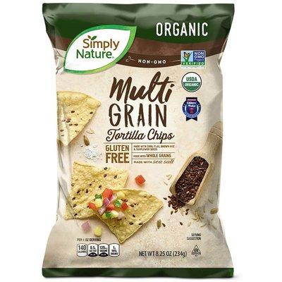 Simply Nature Multi GRAIN Tortilla Chips
